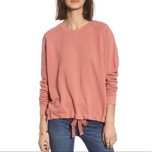 Madewell Drawstring Sweatshirt